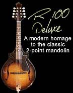 R100 mandolin: A modern homage to the classic 2-point mandolin